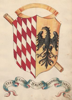 Pl. 172. Italian Family Coats of Arms. Italian School