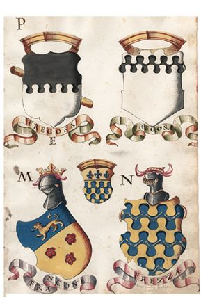 Pl. 61. Italian Family Coats of Arms. Italian School
