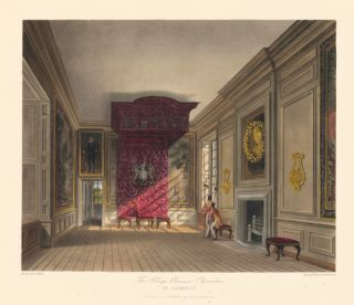 King's Presence Chamber, St. James's. The History of the Royal Residences. W. H. Pyne, Pyne