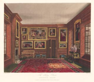 King's Closet, Kensington Palace. The History of the Royal Residences. W. H. Pyne, Pyne