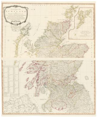 10 & 11. Scotland. A New Universal Atlas. Thomas Kitchin