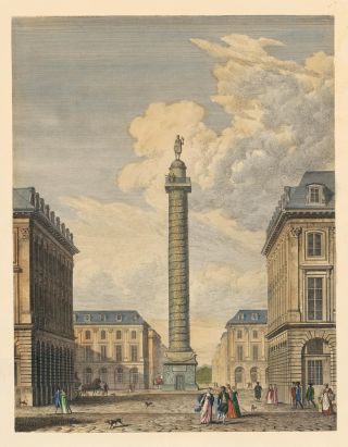 Place Vendome, Paris. French School.