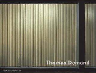 THOMAS DEMAND [Signed & Inscribed]. Roxana Marcoci, Jeffrey Eugenides, New York. Museum of Modern Art.