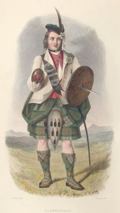 Clan Ranald. The Clans of the Scottish Highlands. R. R. McIan.