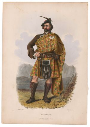 Buchanan. The Clans of the Scottish Highlands. R. R. McIan