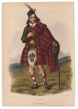 Fraser. The Clans of the Scottish Highlands. R. R. McIan