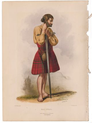 Mac Dugal. The Clans of the Scottish Highlands. R. R. McIan