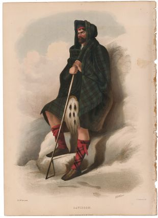 Davidson. The Clans of the Scottish Highlands. R. R. McIan