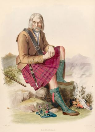 MacFarlan. The Clans of the Scottish Highlands. R. R. McIan