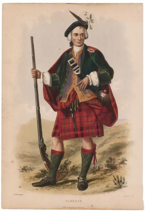 Cameron. The Clans of the Scottish Highlands. R. McIan