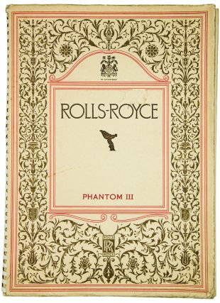 Rolls-Royce, Phantom III. ROLLS-ROYCE LIMITED