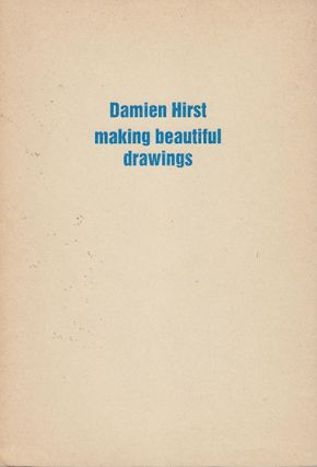 DAMIEN HIRST: Making Beautiful Drawings, An Installation. Berlin. Bruno Brunner Fine Arts.
