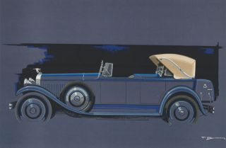 Hispano-Suiza. Paul Bracq