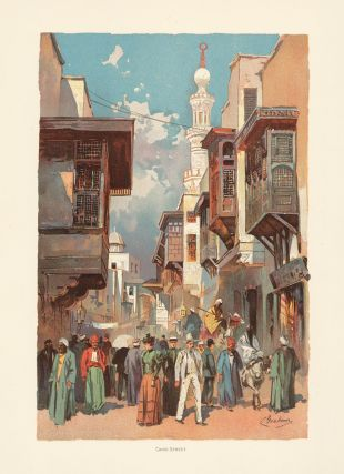 Cairo Street. The World's Fair in Water Colors. Charles S. Graham.