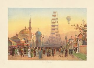 Along the Plaisance. The World's Fair in Water Colors. Charles S. Graham.