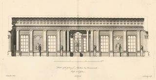 Section of the Gallery of Wyndham Esquire, Hammersmith. A Compleat Body of Architecture. Matthias...