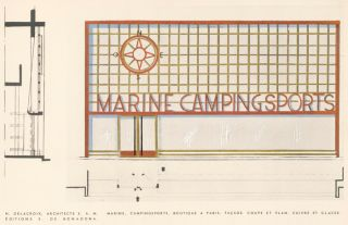 45. Marine, Campingsport. Boutiques.