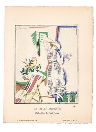 La Belle Journée. Paul Poiret. Georges Lepape, Paul Poiret, Gazette du Bon Ton
