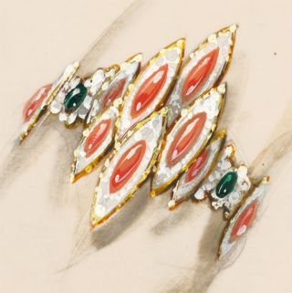Coral, Emerald and Diamond Suite