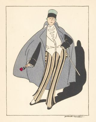 Man in a Top hat and Cape. Le Dessus du Panier. Zoe de Borelli-Vranska