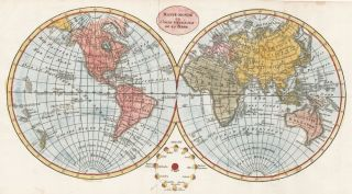 Mappemonde ou Carte Generall de la Terre. Unknown