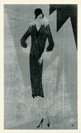 Fitted fur coat with cuffed sleeves. Trade Catalogue. Reynaldo Luza, Revillon Frères