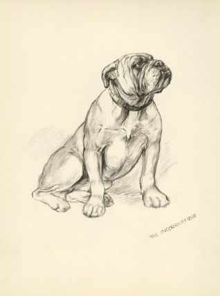 Bulldog: The Incorruptible. Reverse: Moods of Mac. Just Dogs: Sketches in Pen & Pencil. Kathleen...