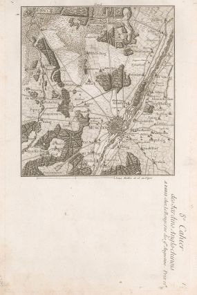 Map of Munich in Bavaria. George Louis Le Rouge