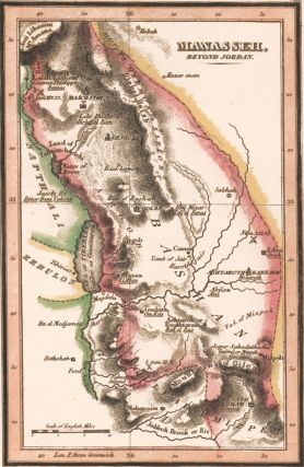 Manasseh, beyond Jordan. The Bible Atlas. Richard Palmer