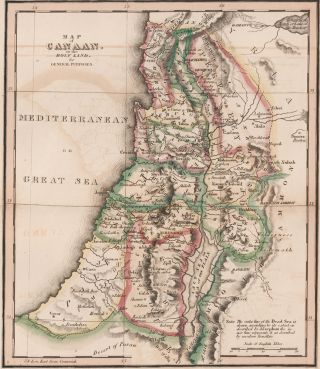 Canaan. The Bible Atlas. Richard Palmer