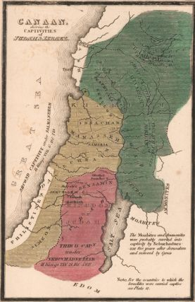 Canaan, captivities of Judah and Israel. The Bible Atlas. Richard Palmer
