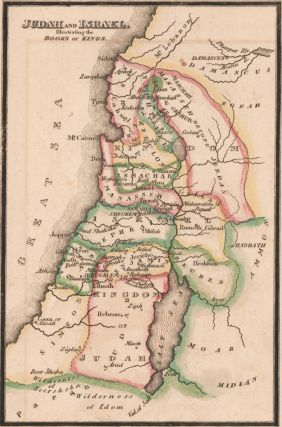 Judah and Israel. The Bible Atlas. Richard Palmer