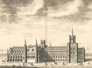 The Cathedral Church of Ely. Britannia Illustrata. Leonard Knyff