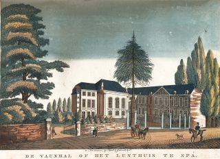 De Vauxhal of Het Lusthuis te Spa. Unknown