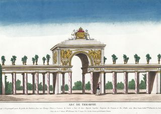 Arc de Triomphe. French School