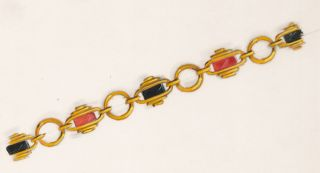 Gold Bracelet Design. Parisian School.