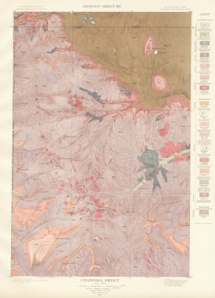 Crandall Sheet. Atlas to Accompany Monograph XXXII on the Geology of the Yellowstone National Park. Arnold Hague.