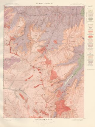 Ishawooa Sheet. Atlas to Accompany Monograph XXXII on the Geology of the Yellowstone National...