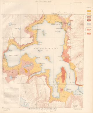The Shores of Yellowstone Lake. Atlas to Accompany Monograph XXXII on the Geology of the...