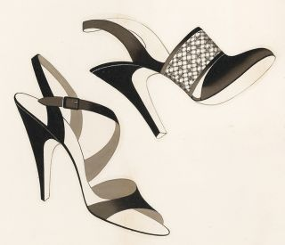 Shoe design. Unknown
