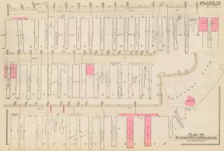 Section 3: Plate 39. Land Book of the Borough of Manhattan, City of New York. Bromley, GW...