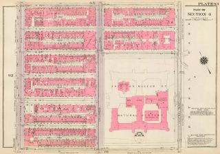 Section 4: Plate 93. Land Book of the Borough of Manhattan, City of New York. Bromley, GW...
