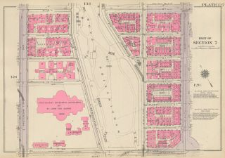 Section 6: Plate 127. Land Book of the Borough of Manhattan, City of New York. Bromley, GW...