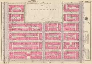 Section 7: Plate 135. Land Book of the Borough of Manhattan, City of New York. Bromley, GW...