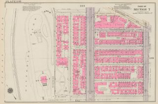 Section 7: Plate 138. Land Book of the Borough of Manhattan, City of New York. Bromley, GW...