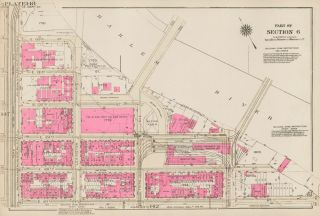Section 6: Plate 148. Land Book of the Borough of Manhattan, City of New York. Bromley, GW...