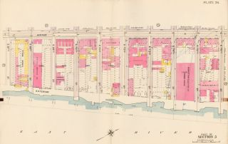 Section 5: Plate 26. Atlas of the City of New York. Bromley, GW Bromley, Co