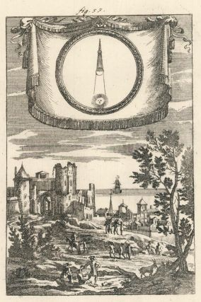 Lunar Eclipses according to modern opinion. Description de l'Univers. Allain Manesson Mallet