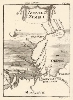 Map of Novaya Zemlya [Nova Zembla], Russia. Description de l'Univers. Allain Manesson Mallet