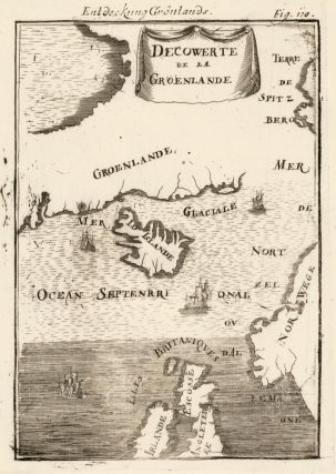 Map of Greenland. Description de l'Univers. Allain Manesson Mallet